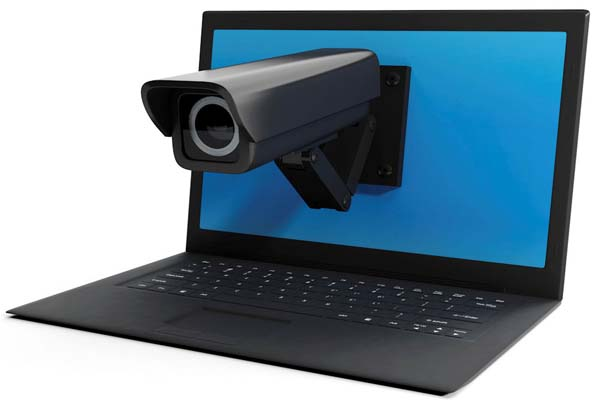 Шпионаж через веб-камеру компьютера