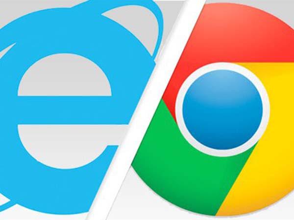 Google Chrome стал популярнее Internet Explorer