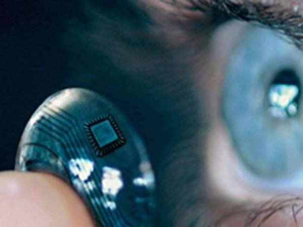 Samsung создает контактную линзу с камерой и дисплеем