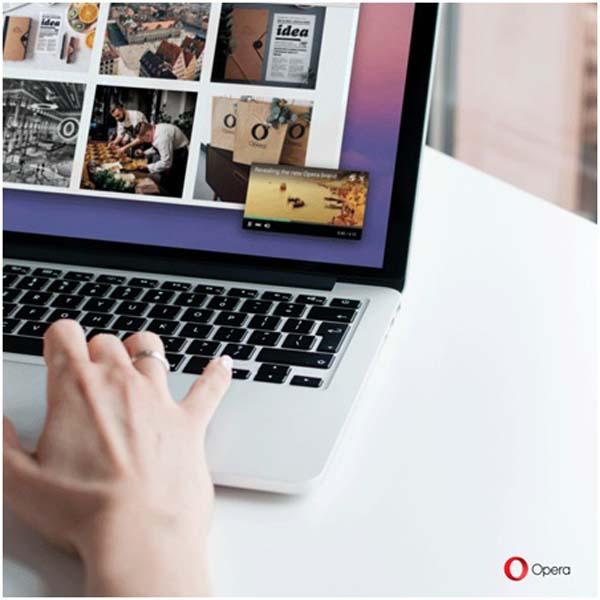 В браузере Opera появилась функция картинка в картинке