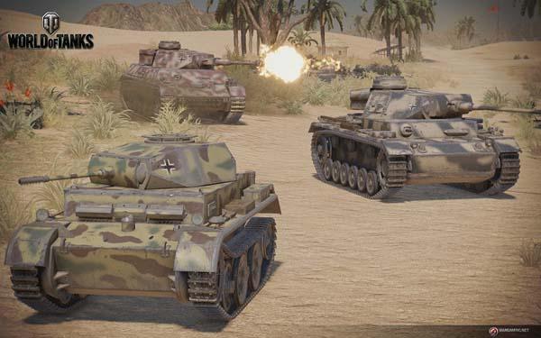 В World of Tanks на PlayStation 4 появятся новые советские и немецкие танки