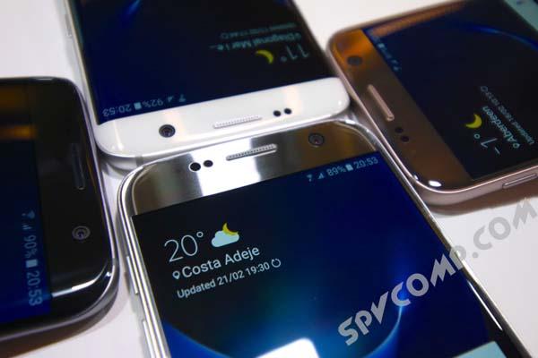 Смартфоны Galaxy S7 и Galaxy S7 edge будут продаваться без логотипа Samsung
