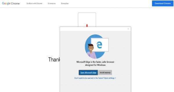 Windows 10 блокирует установку сторонних браузеров