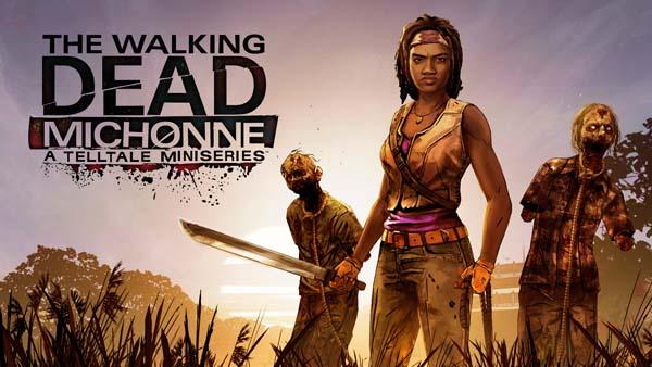 Заключительный эпизод The Walking Dead Michonne